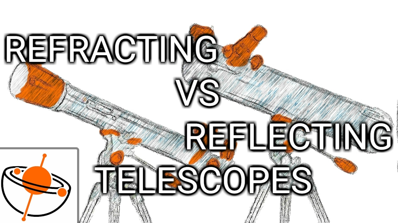 Reflecting vs Refracting Telescope