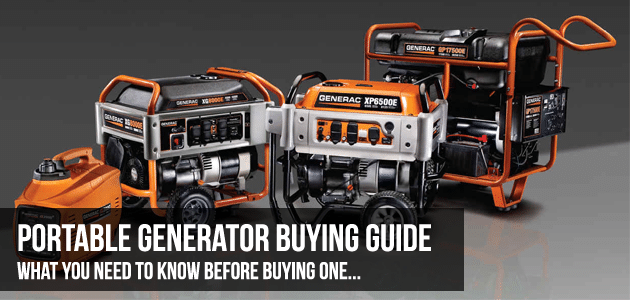 Best Generator Buying Guide